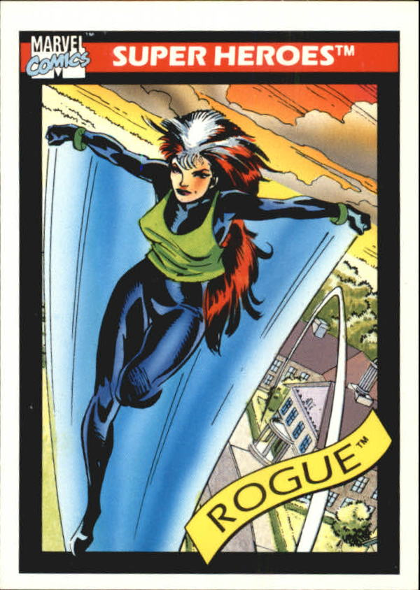 1990 Marvel Universe I #41 Rogue
