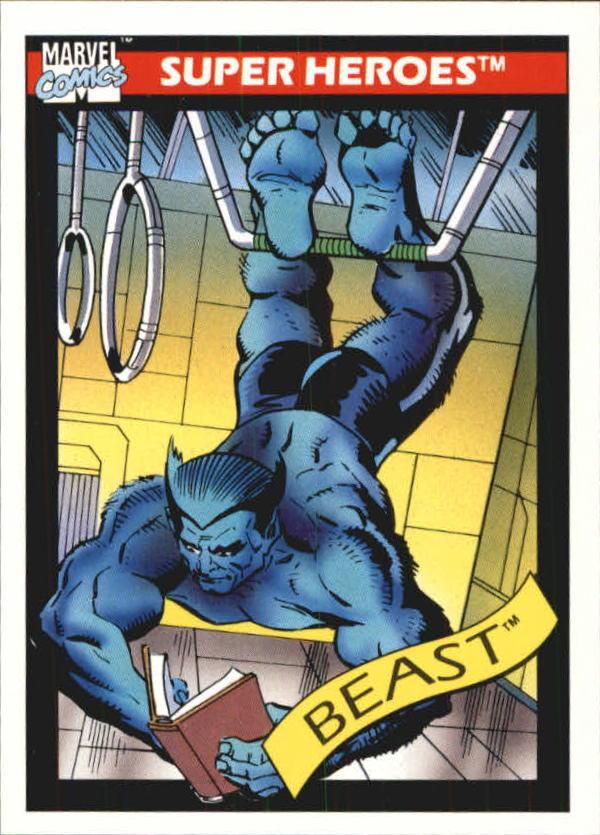 1990 Marvel Universe I #46 Beast