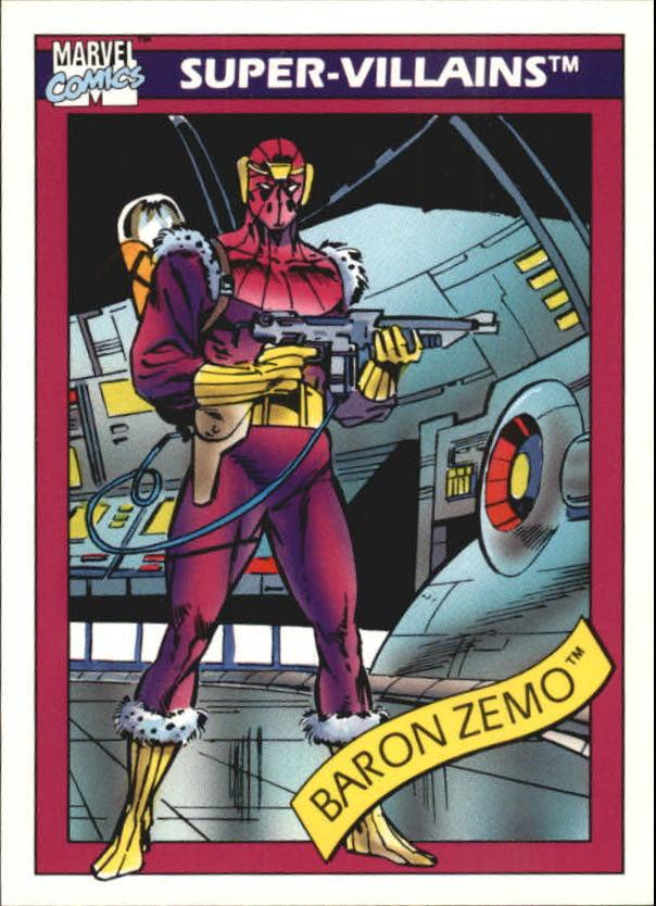 1990 Marvel Universe I #53 Baron Zemo