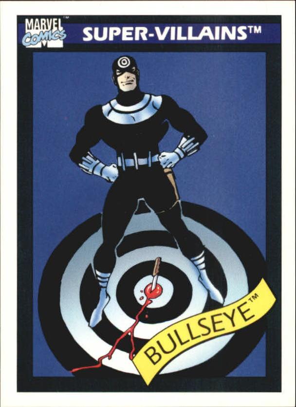 1990 Marvel Universe I #64 Bullseye