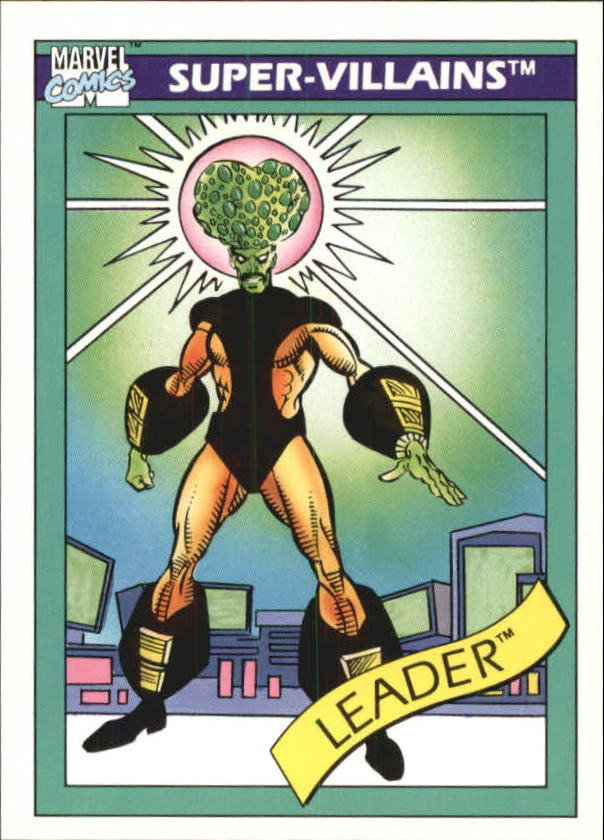 1990 Marvel Universe I #70 Leader