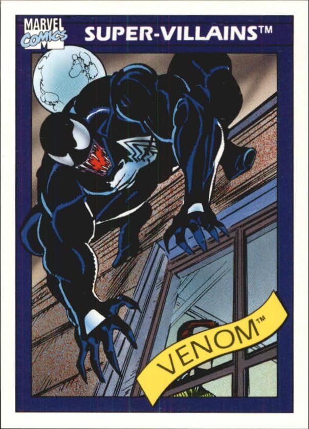 1990 Marvel Universe I #73 Venom
