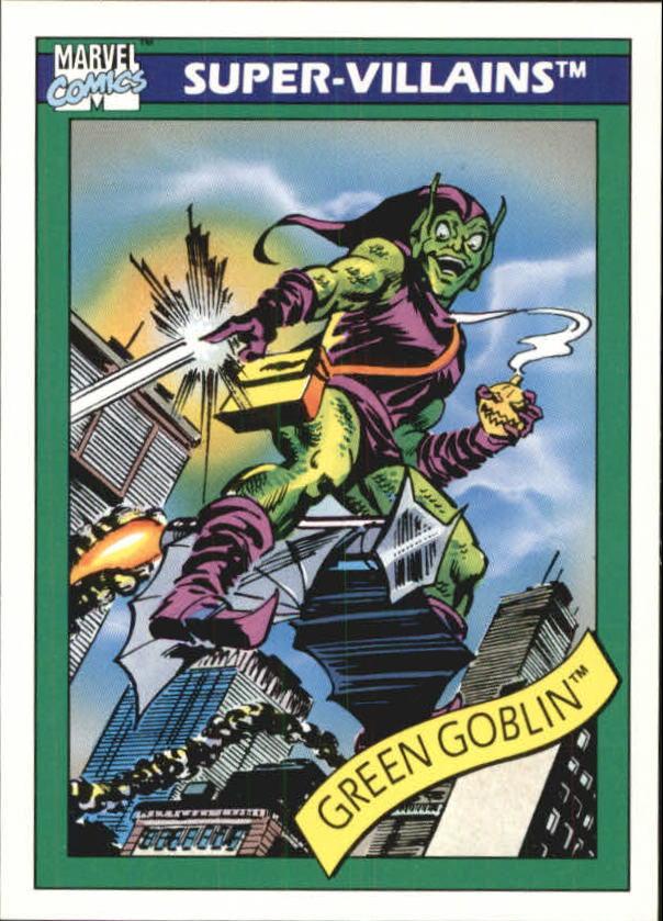 1990 Marvel Universe I #74 Green Goblin