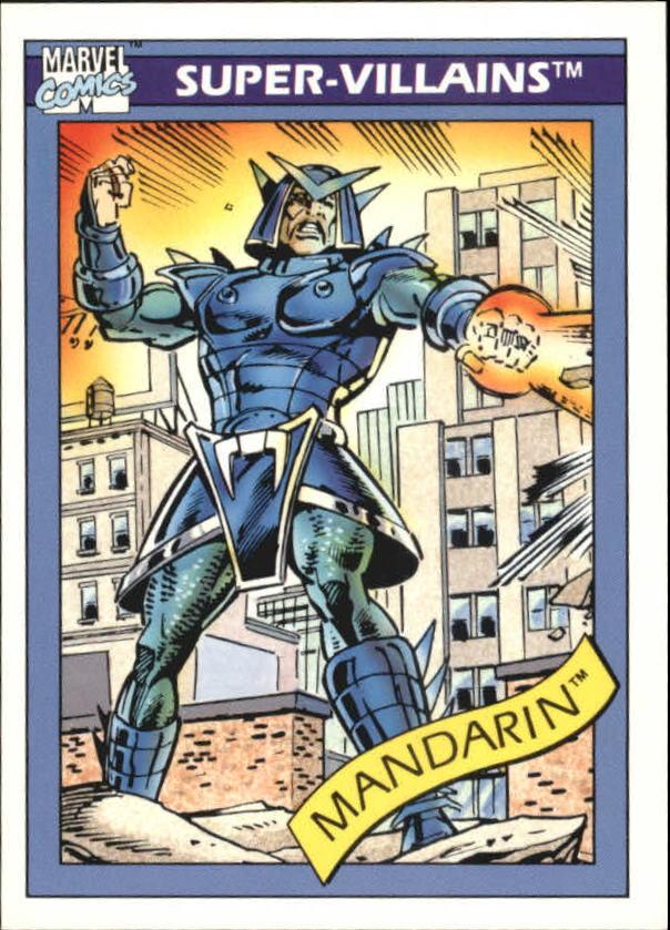 1990 Marvel Universe I #76 Mandarin