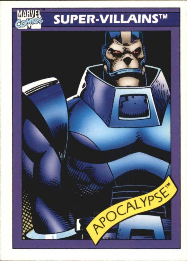 1990 Marvel Universe I #80 Apocalypse