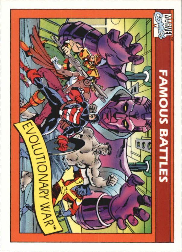 1990 Marvel Universe I #103 Evolutionary War