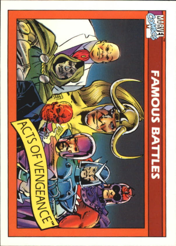 1990 Marvel Universe I #105 Acts of Vengeance
