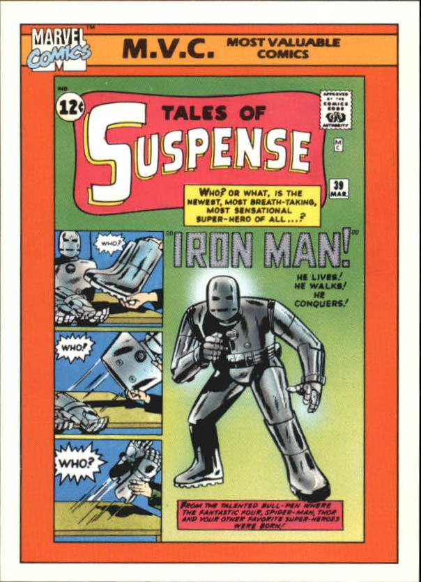 1990 Marvel Universe I #135 Tales of Suspense #39