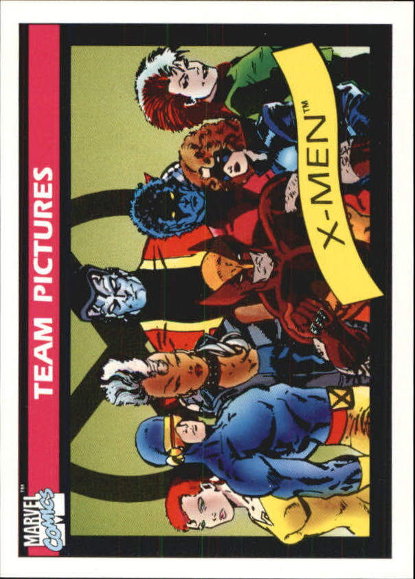 1990 Marvel Universe I #140 X-Men