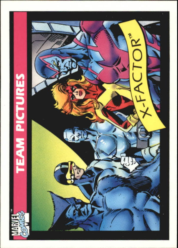 1990 Marvel Universe I #143 X-Factor