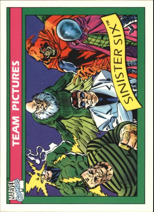 1990 Marvel Universe I #146 Sinister Six