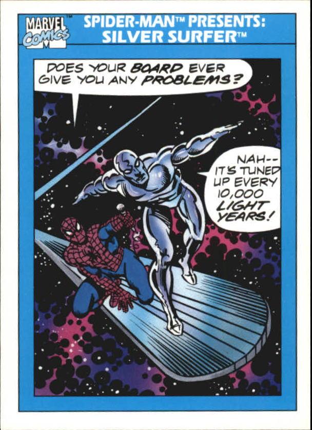1990 Marvel Universe I #153 Silver Surfer