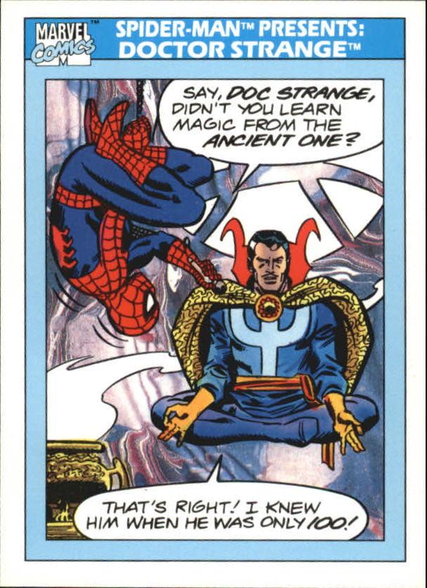 1990 Marvel Universe I #158 Doctor Strange