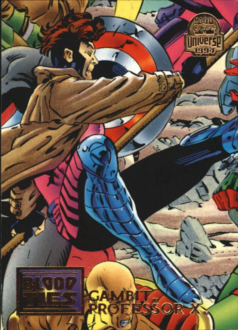1994 Marvel Universe V #32 Gambit and Professor X