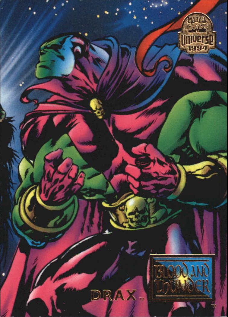 1994 Marvel Universe V #63 Drax