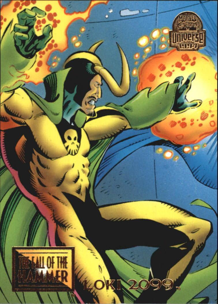 1994 Marvel Universe V #88 Loki 2099