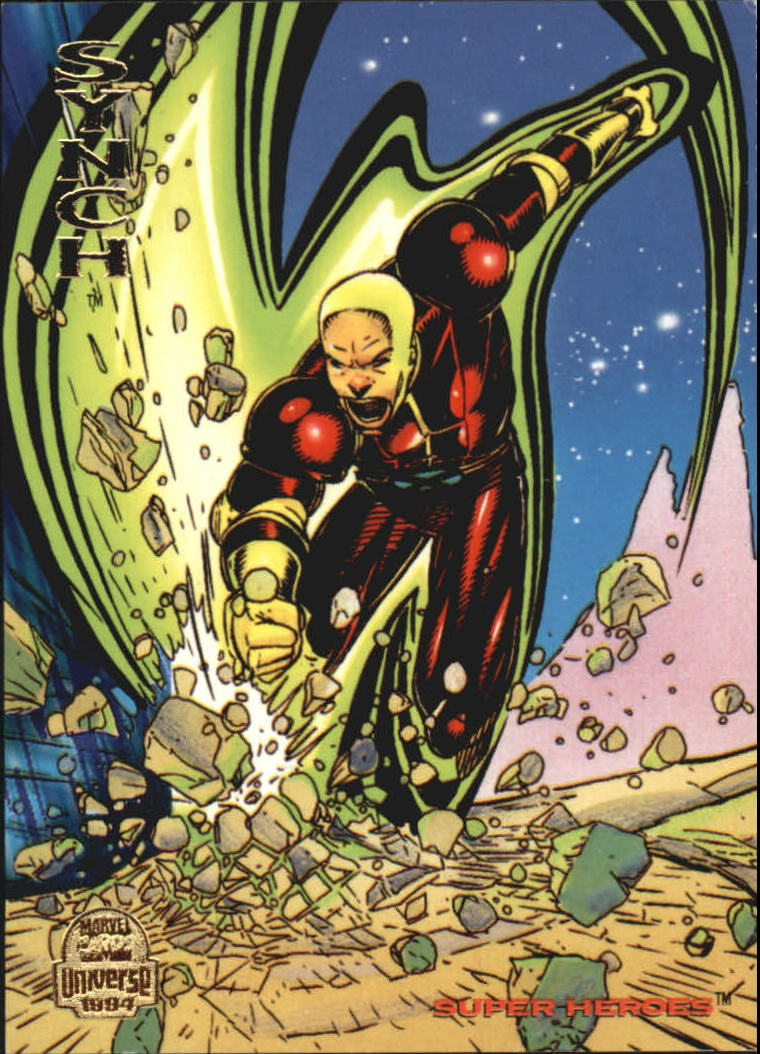 1994 Marvel Universe V #121 Synch