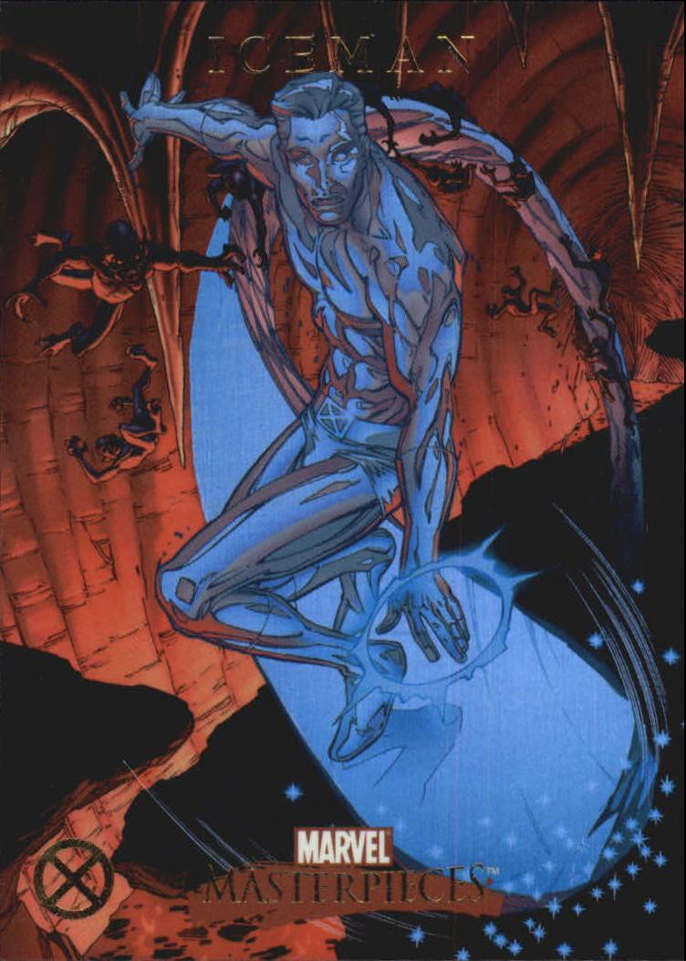 2007 Marvel Masterpieces X-Men Foil #X6 Iceman