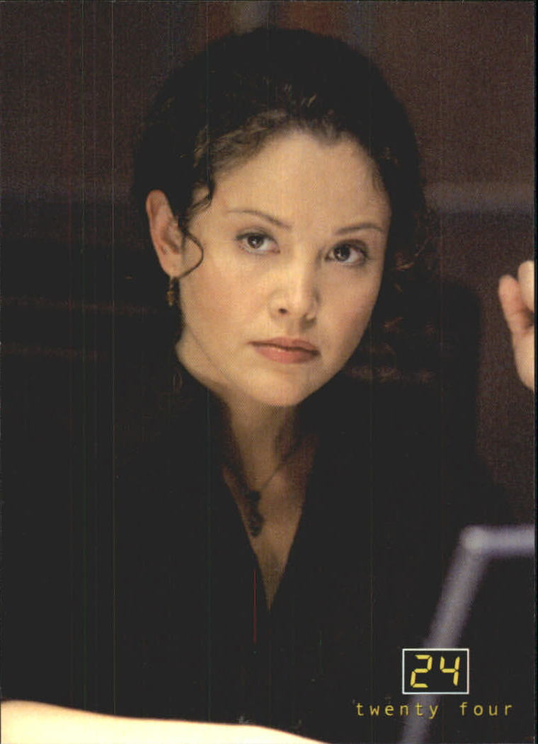 2003 24 Seasons One and Two #7 Michelle Dessler