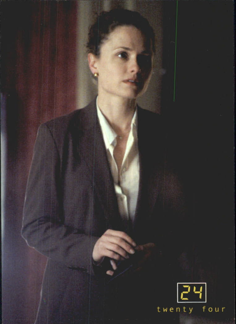 2003 24 Seasons One and Two #18 Elizabeth Nash