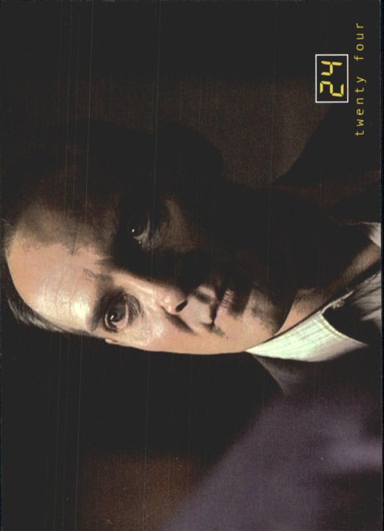 2003 24 Seasons One and Two #19 Carl Webb
