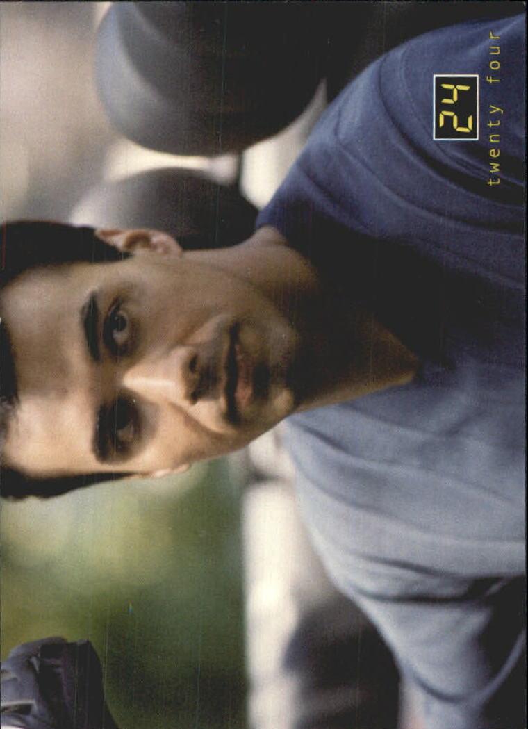 2003 24 Seasons One and Two #23 Reza Naiyeer