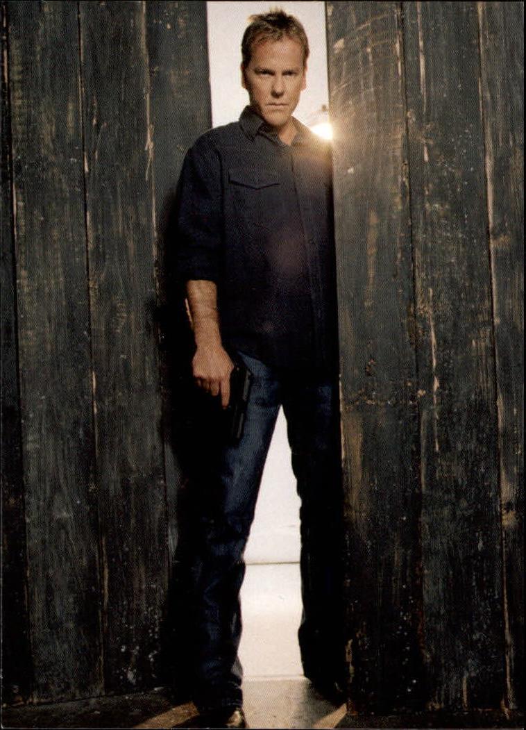 2005 24 Season Three #1 Cover Card