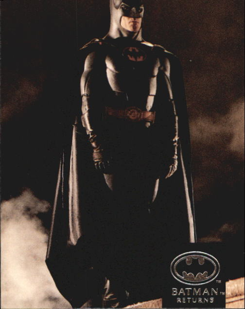 1992 Batman Returns Stadium Club #24 A consultant on Batman Returns