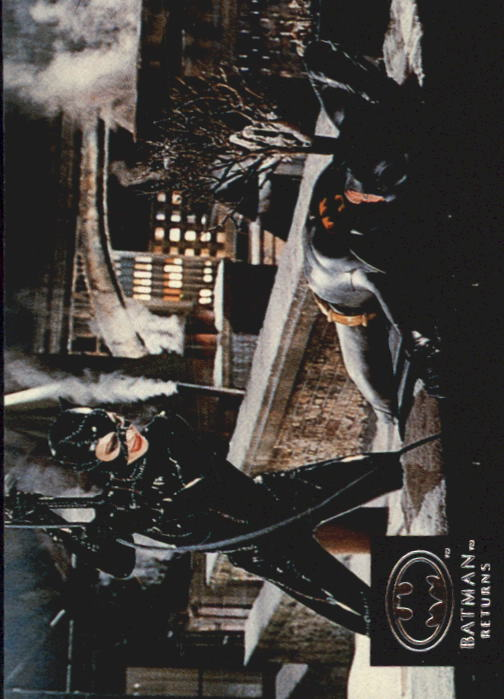 1992 Batman Returns Stadium Club #47 Directing Selina Kyle