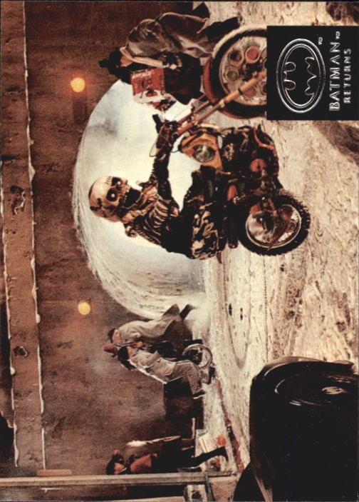 1992 Batman Returns Stadium Club #68 After blasting out