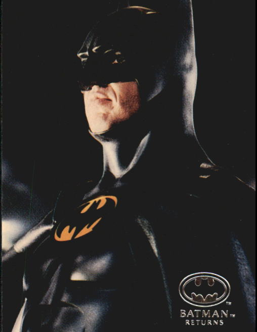 1992 Batman Returns Stadium Club #90 Some finished Batman cowls