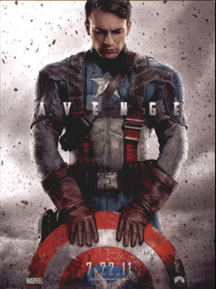 2011 Captain America The First Avenger #1 Movie Credits