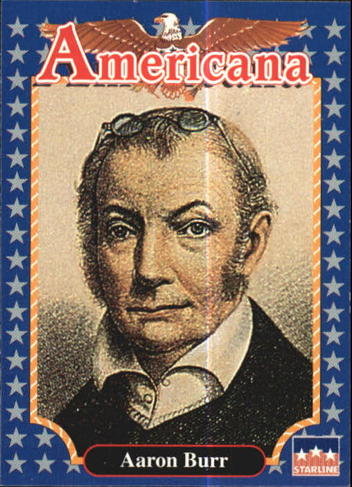 1992 Americana #9 Aaron Burr