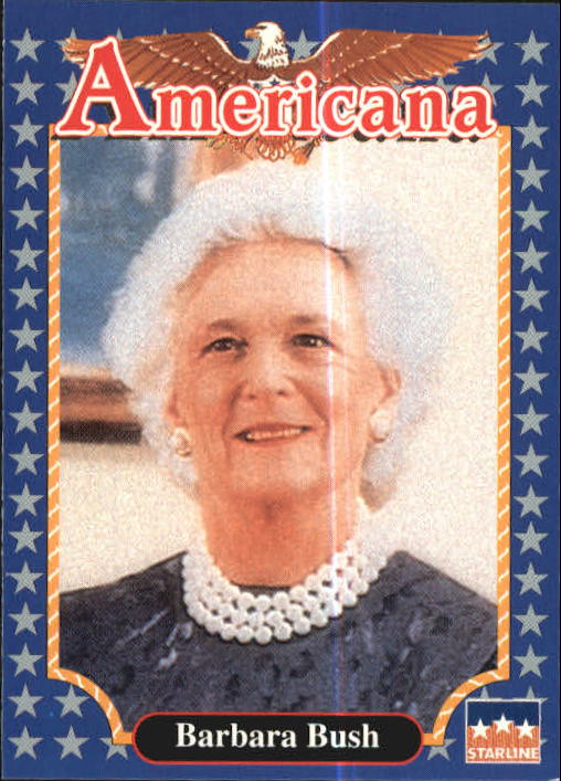 1992 Americana #111 Barbara Bush