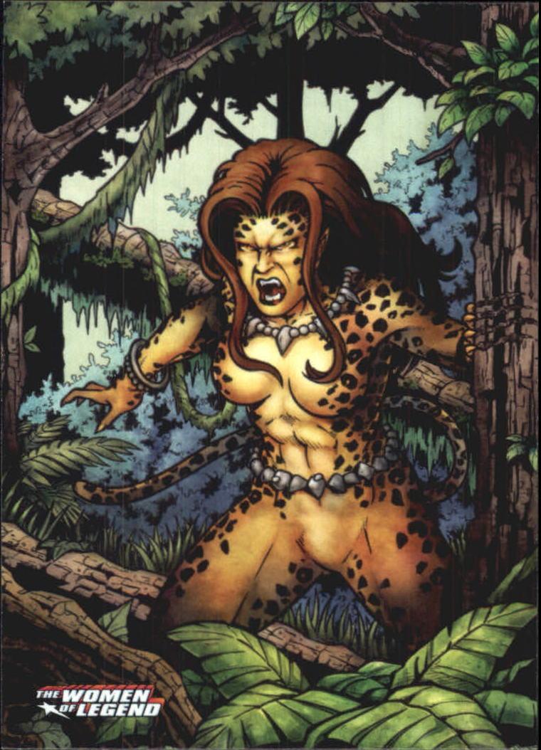 2013 DC Comics Women of Legend #11 Cheetah