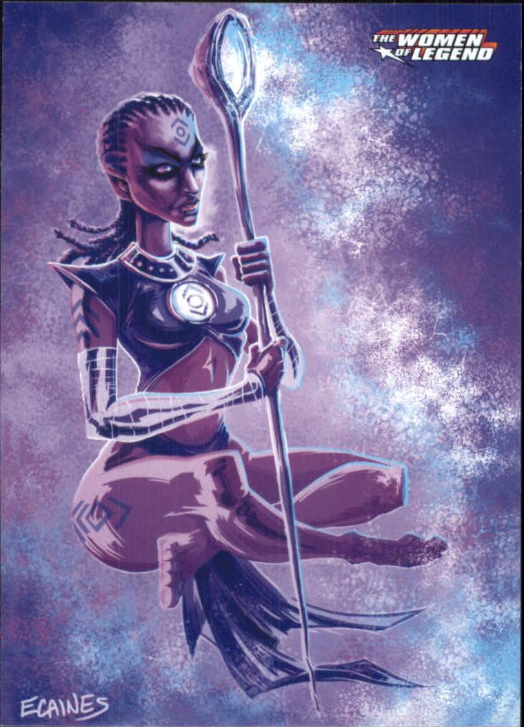 2013 DC Comics Women of Legend #12 Indigo