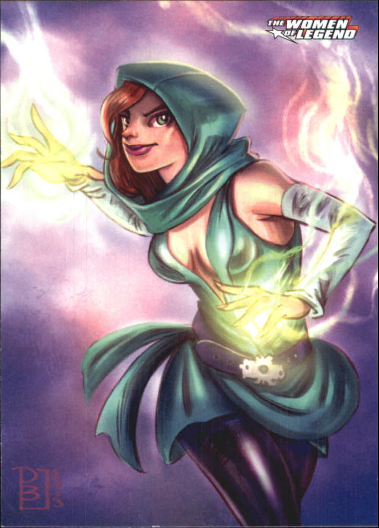 2013 DC Comics Women of Legend #15 Enchantress