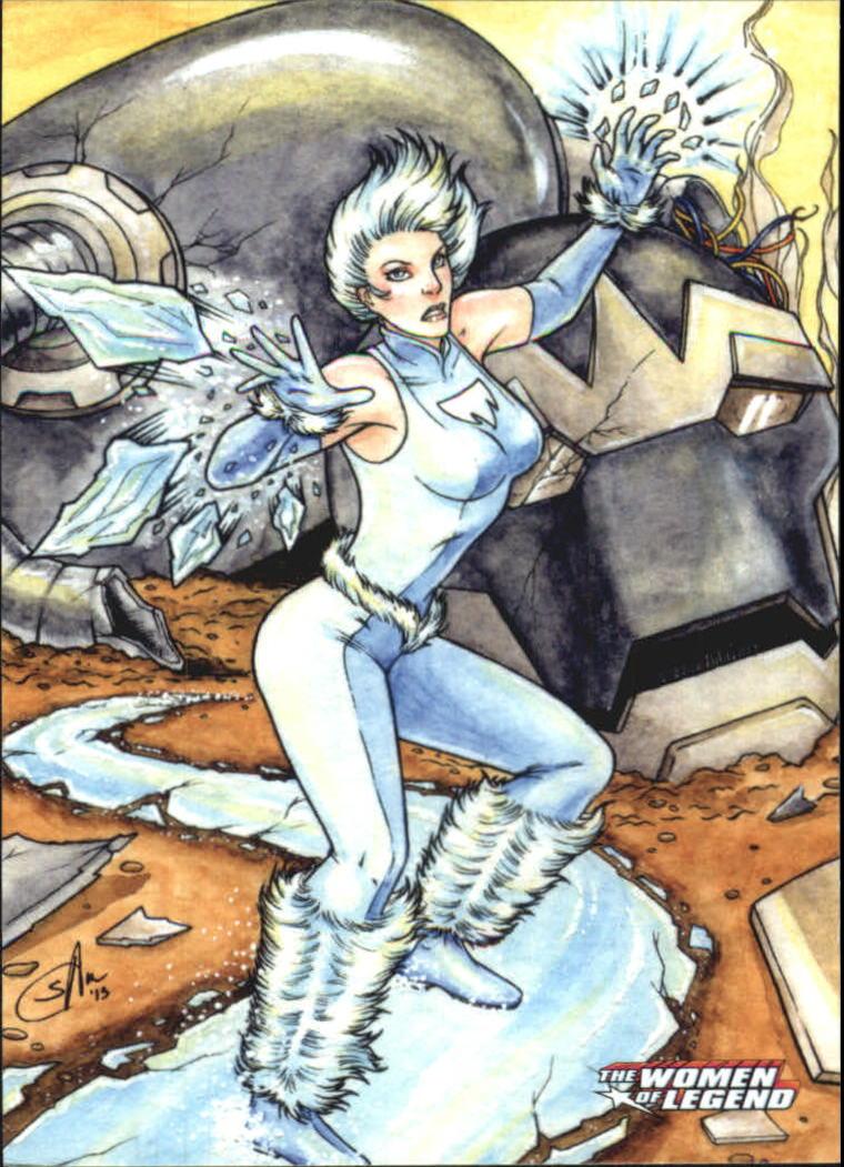2013 DC Comics Women of Legend #21 Ice