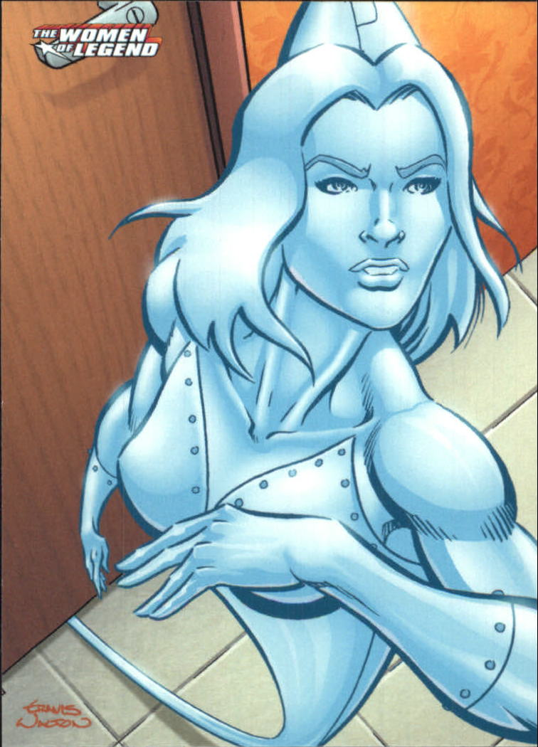 2013 DC Comics Women of Legend #24 Platinum