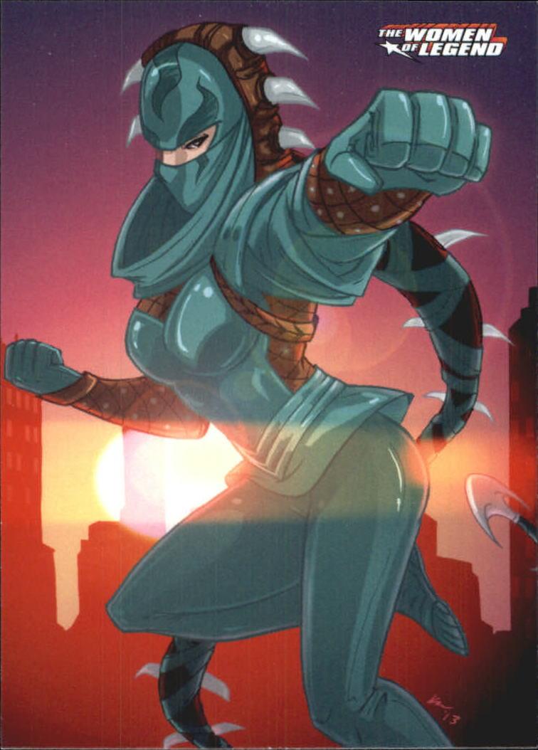 2013 DC Comics Women of Legend #25 Lady Shiva