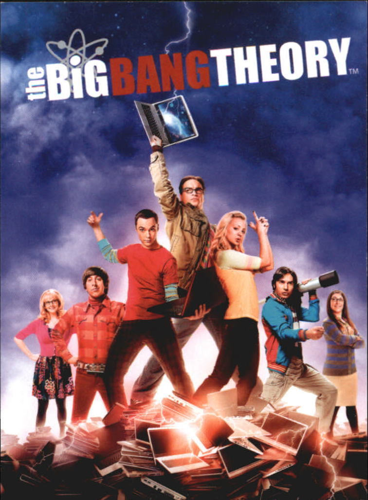2013 The Big Bang Theory Season Five #1 The Big Bang Theory