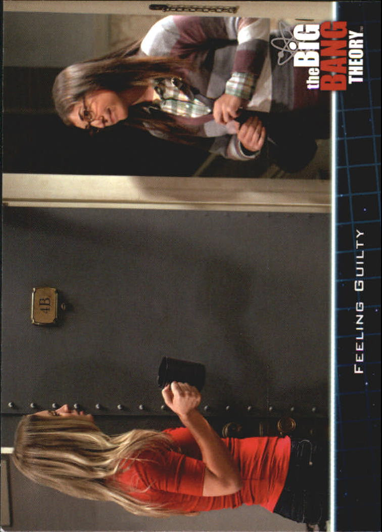 2013 The Big Bang Theory Season Five #2 Feeling Guilty
