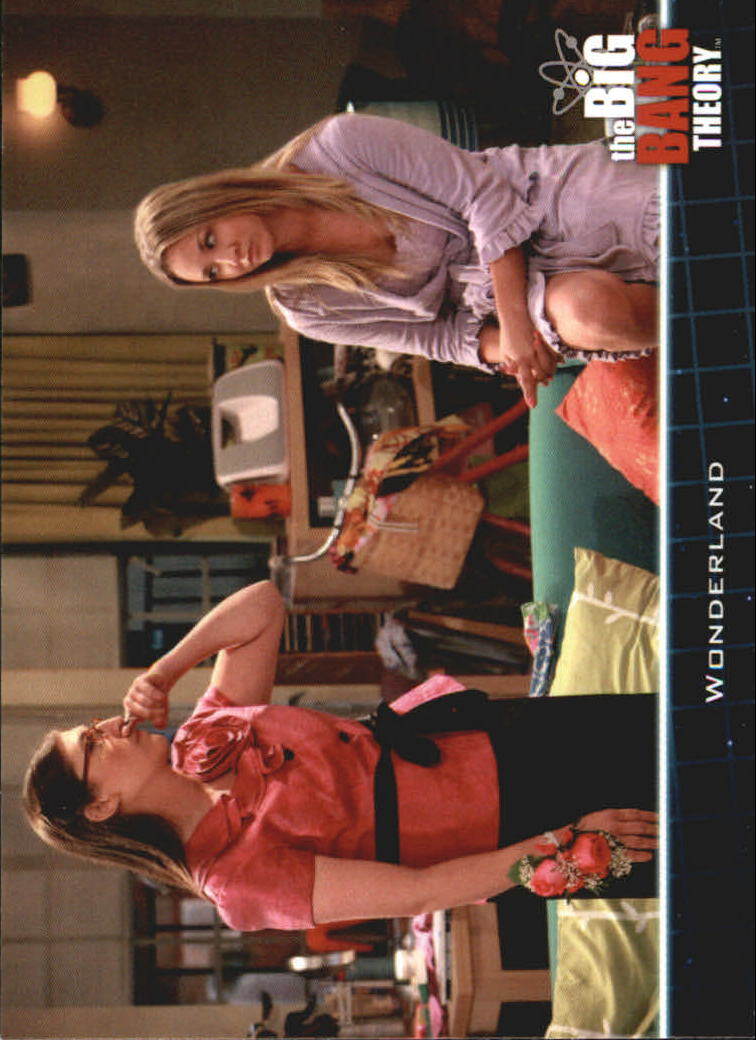 2013 The Big Bang Theory Season Five #12 Wonderland