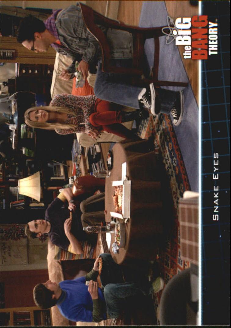 2013 The Big Bang Theory Season Five #15 Snake Eyes