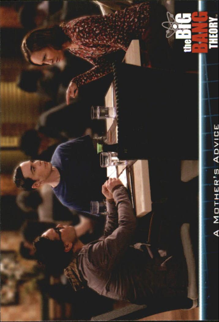 2013 The Big Bang Theory Season Five #17 A Mother?s Advice