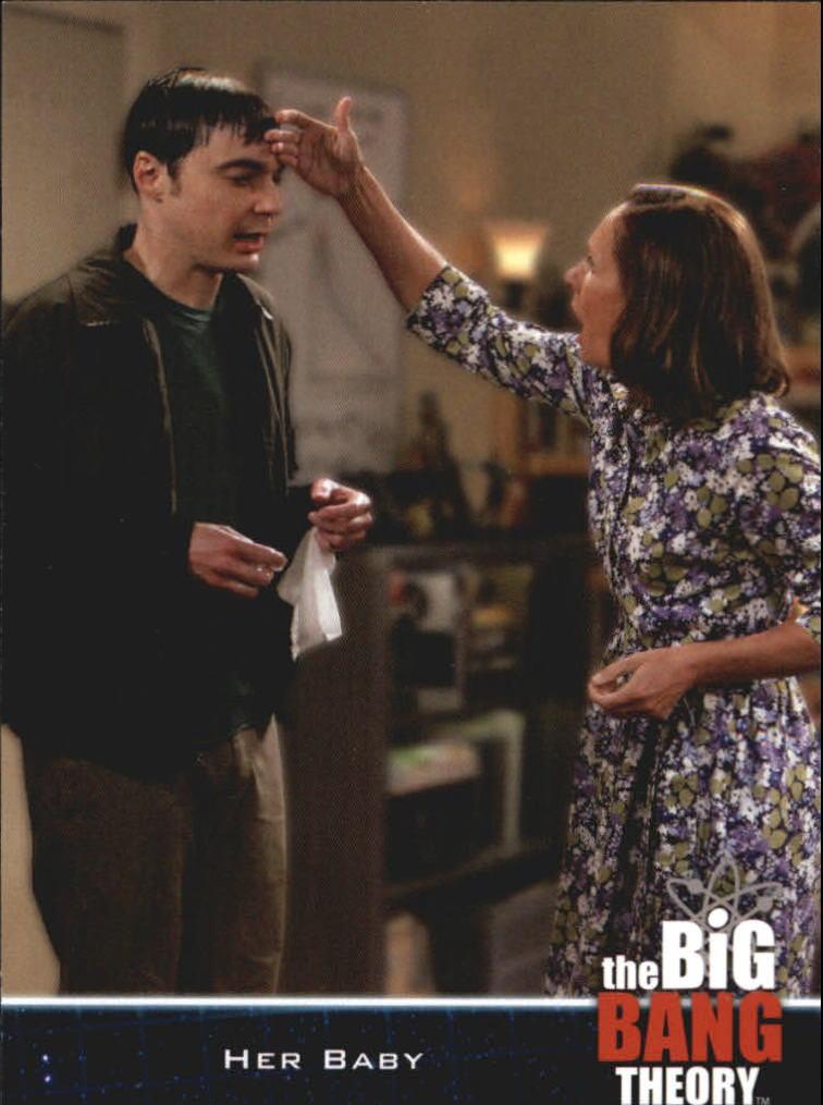 2013 The Big Bang Theory Season Five #21 Her Baby