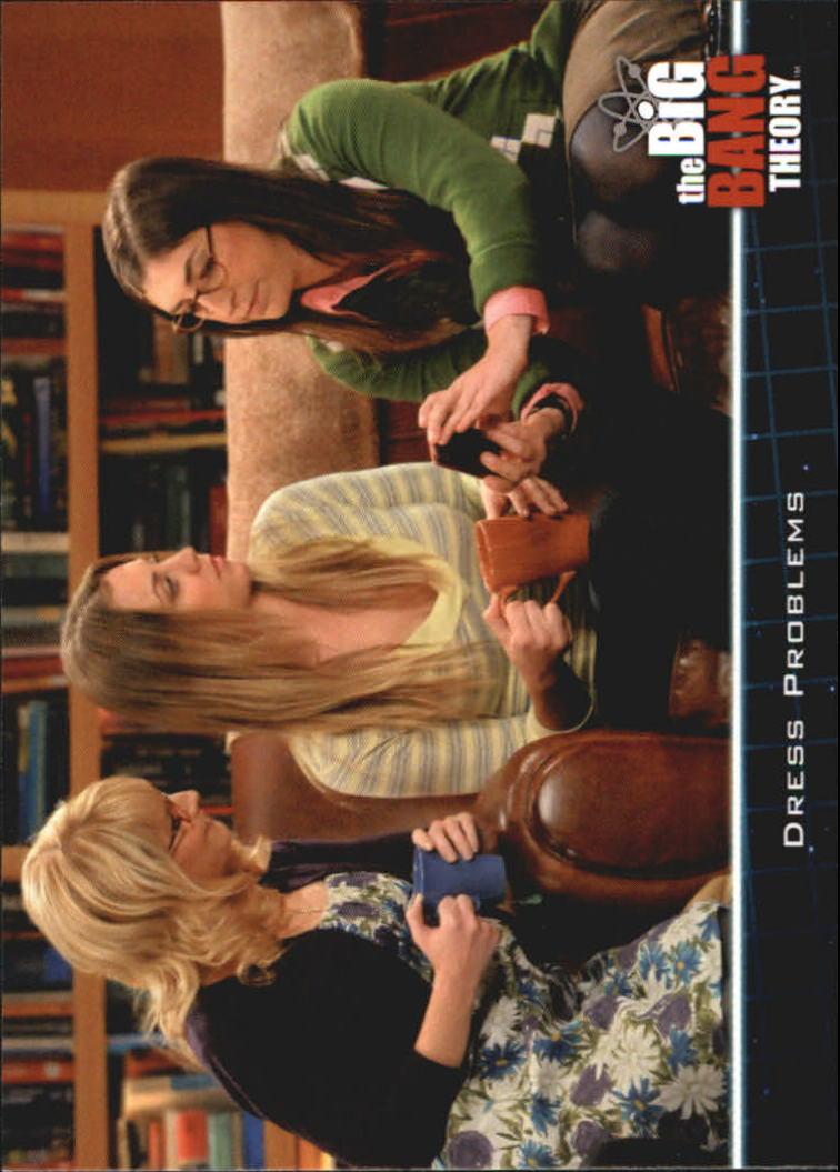 2013 The Big Bang Theory Season Five #24 Dress Problems