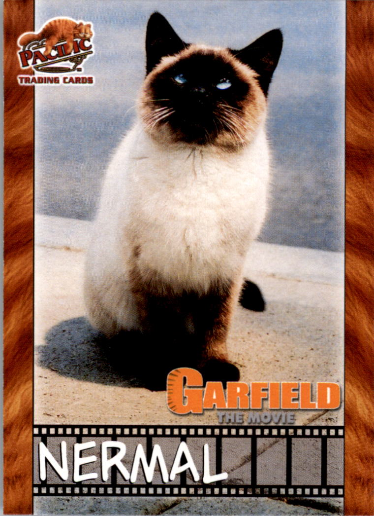 2004 Garfield Collection Garfield The Movie Non Sport Card 5 Nermal Ebay