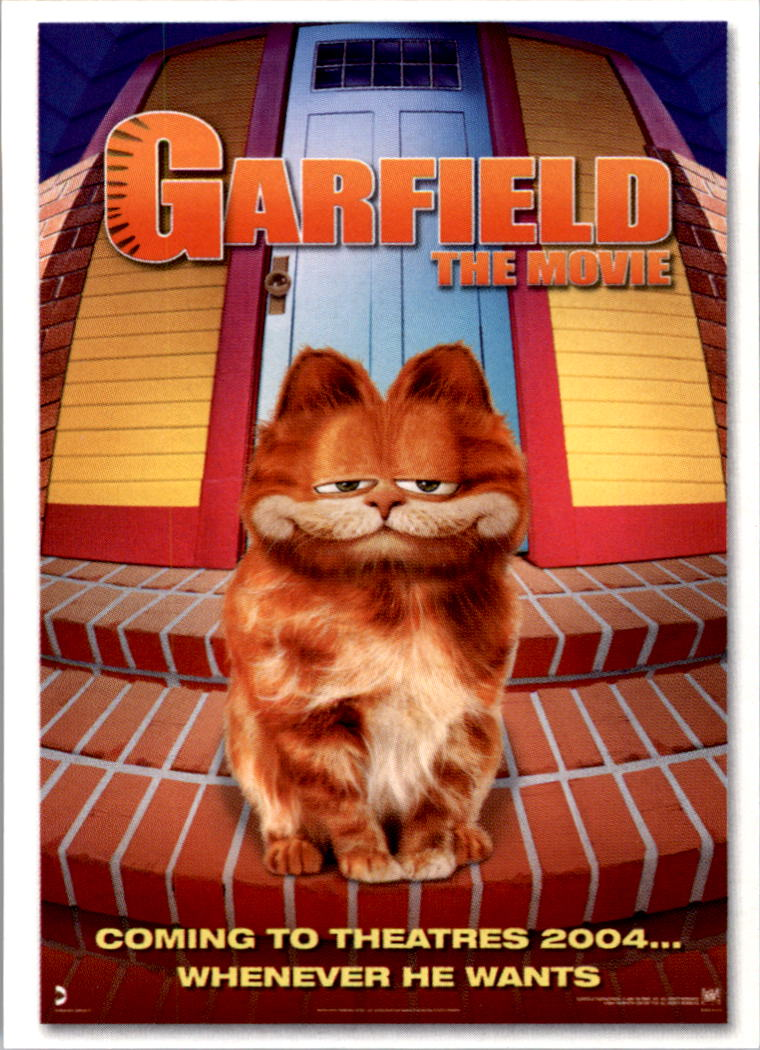 2004 Garfield Collection Garfield The Movie 11 International Movie Poster Nm Mt