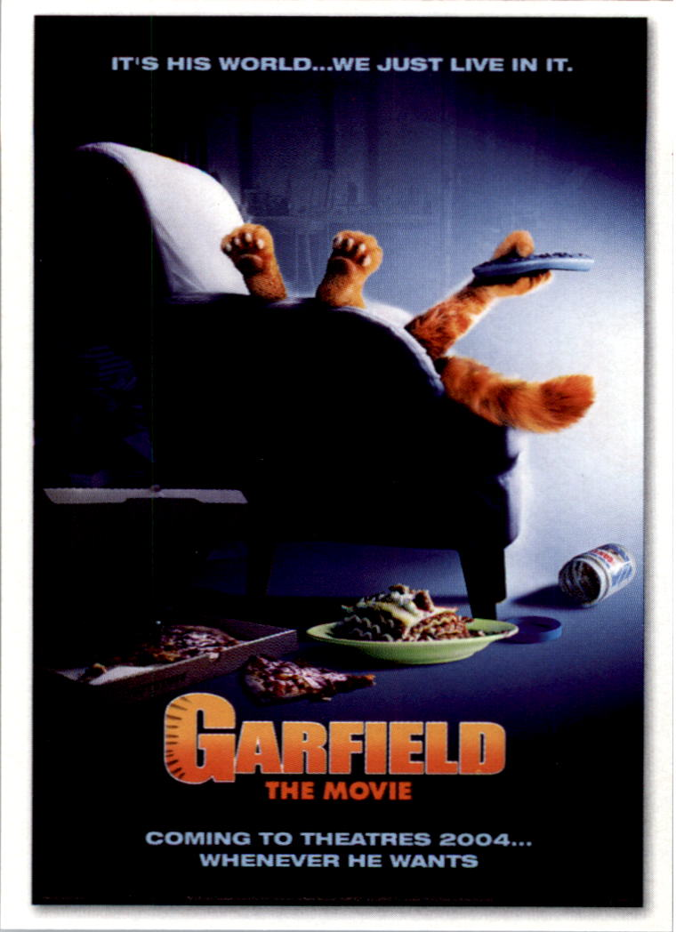 2004 Garfield Collection Garfield The Movie 12 International Movie Poster Nm Mt